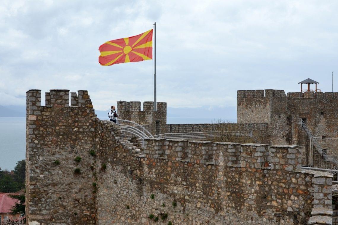 balkan backpack ohrid castle