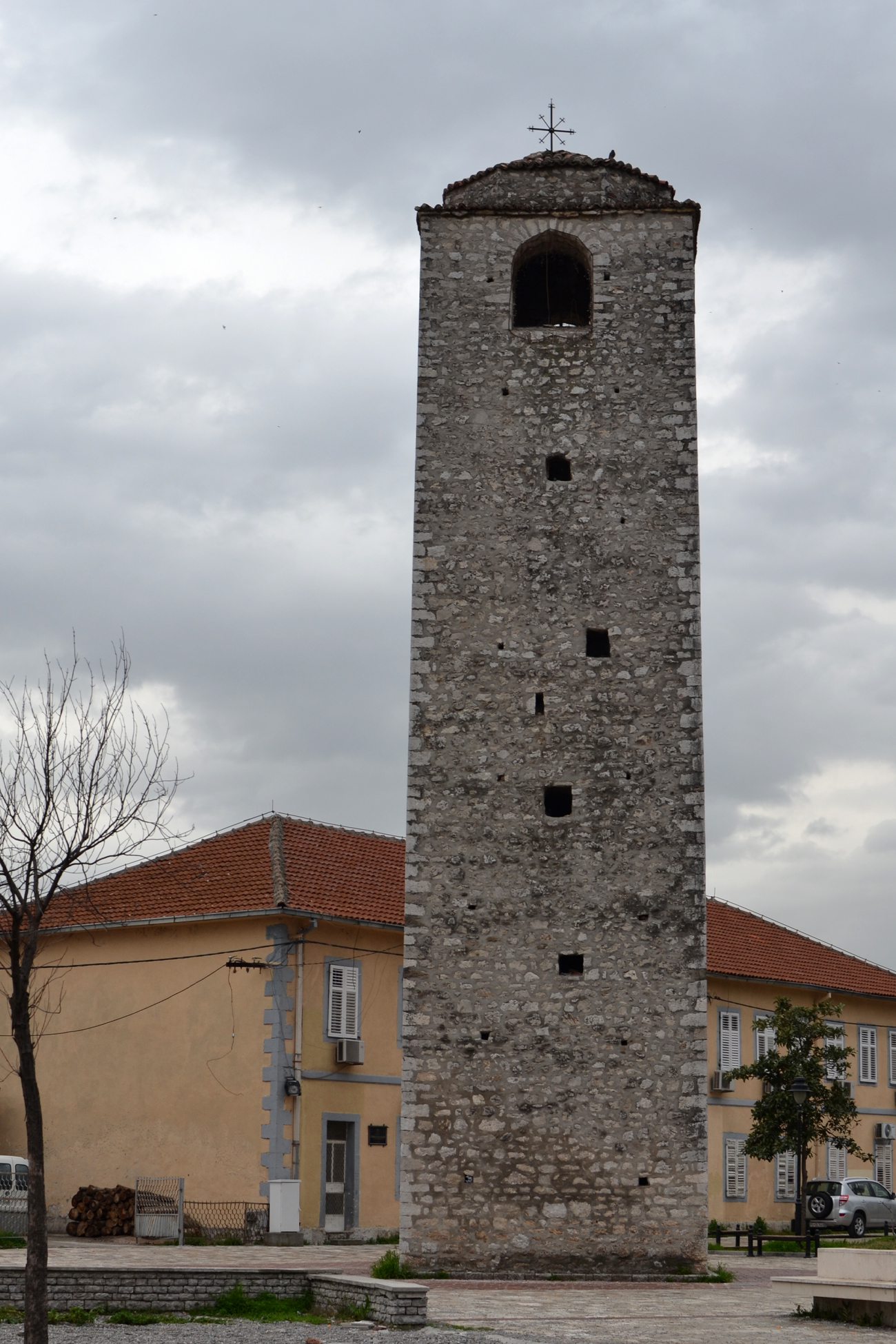 balkan backpack podgorica tower