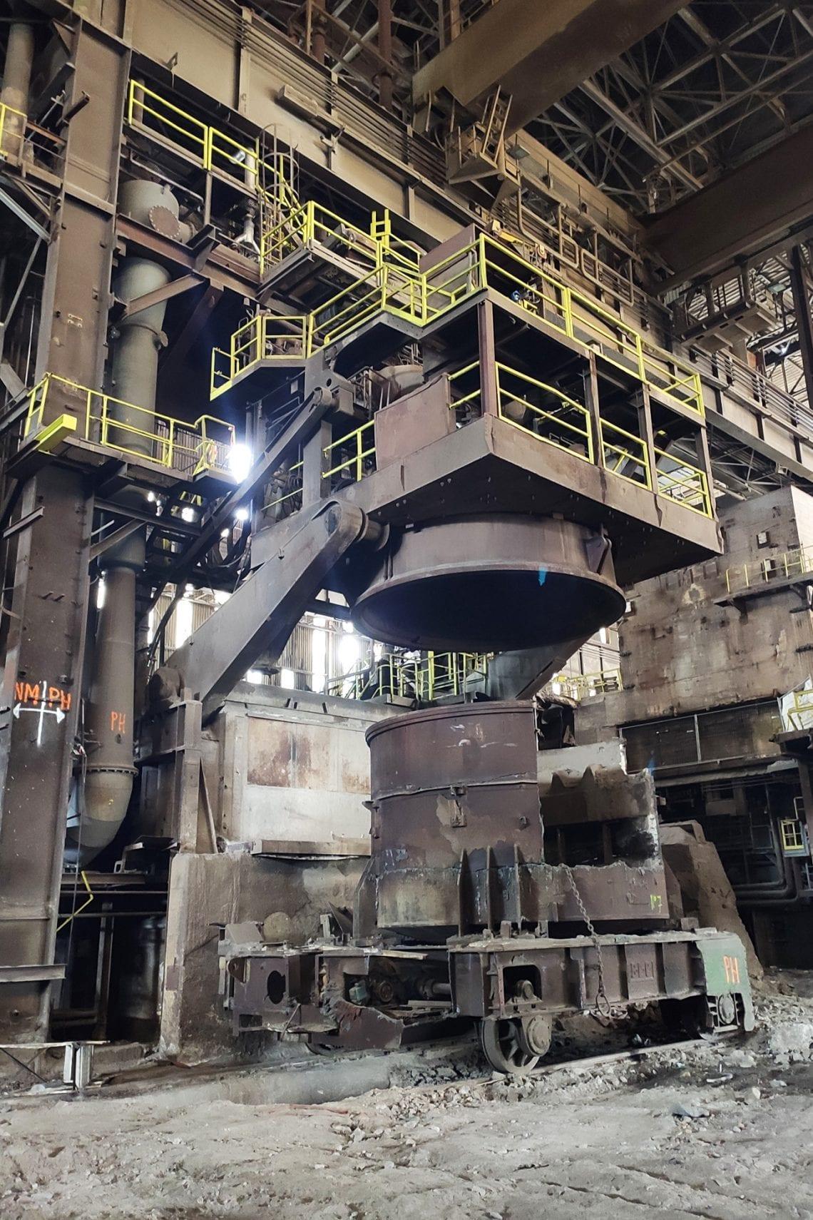 belgium urbex molten steel works