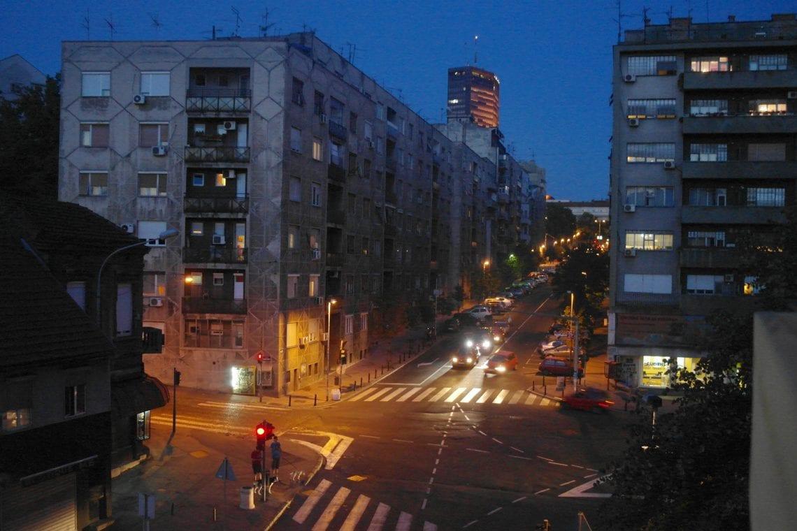 belgrade to budva belgrade at night