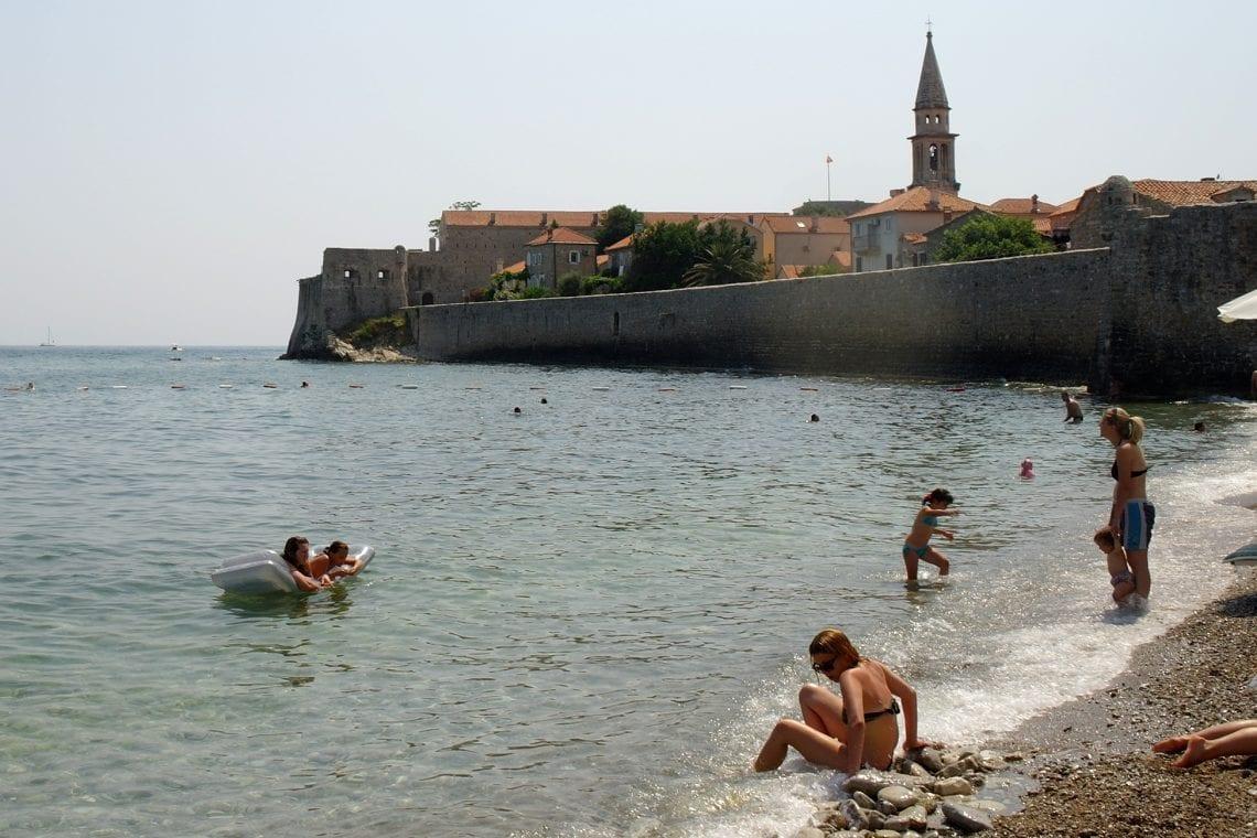 belgrade to budva budva beach