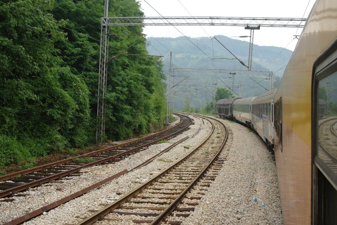 belgrade to budva it's a long train trip