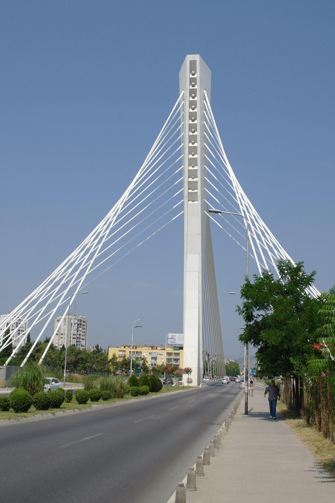 belgrade to budva podgorica millennium bridge