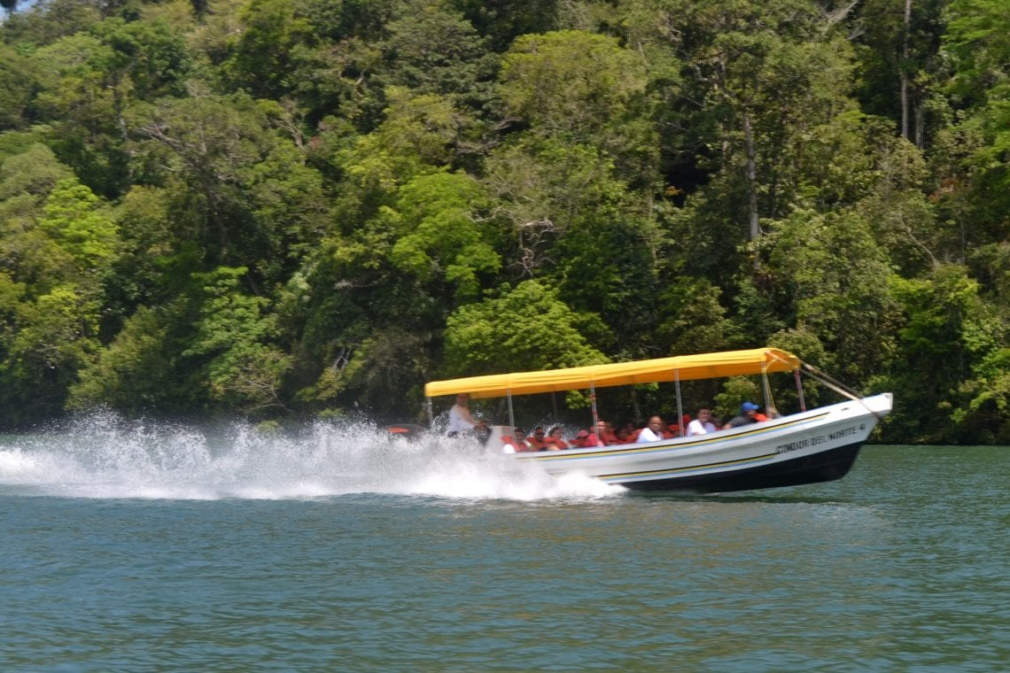 central america taster water taxi to livingston