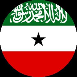 flag of somaliland flat round 256x256
