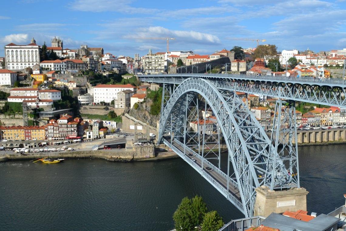 lisbon and porto dom luís i bridge