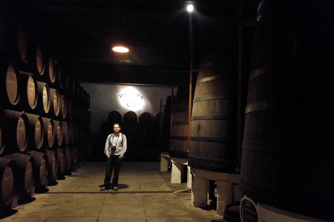 lisbon and porto maz walking through the wine cellars