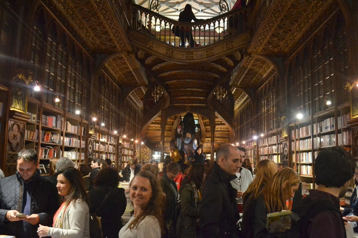 lisbon and porto porto's busy famous magical book shop