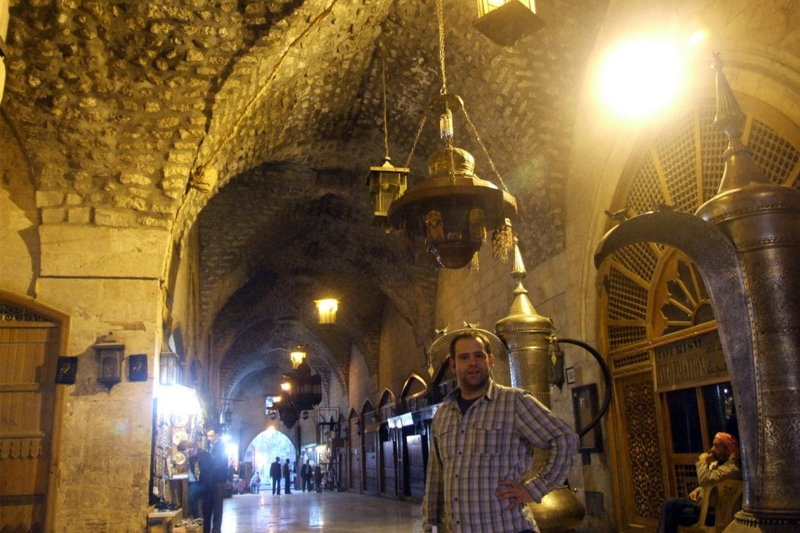 middle east backpack maz in the souq