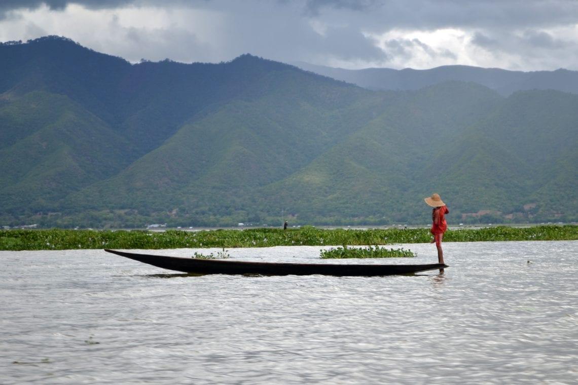 myanmar fisherman in inlay