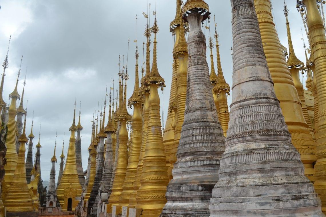myanmar loads of stupas in inn dein padodas 2
