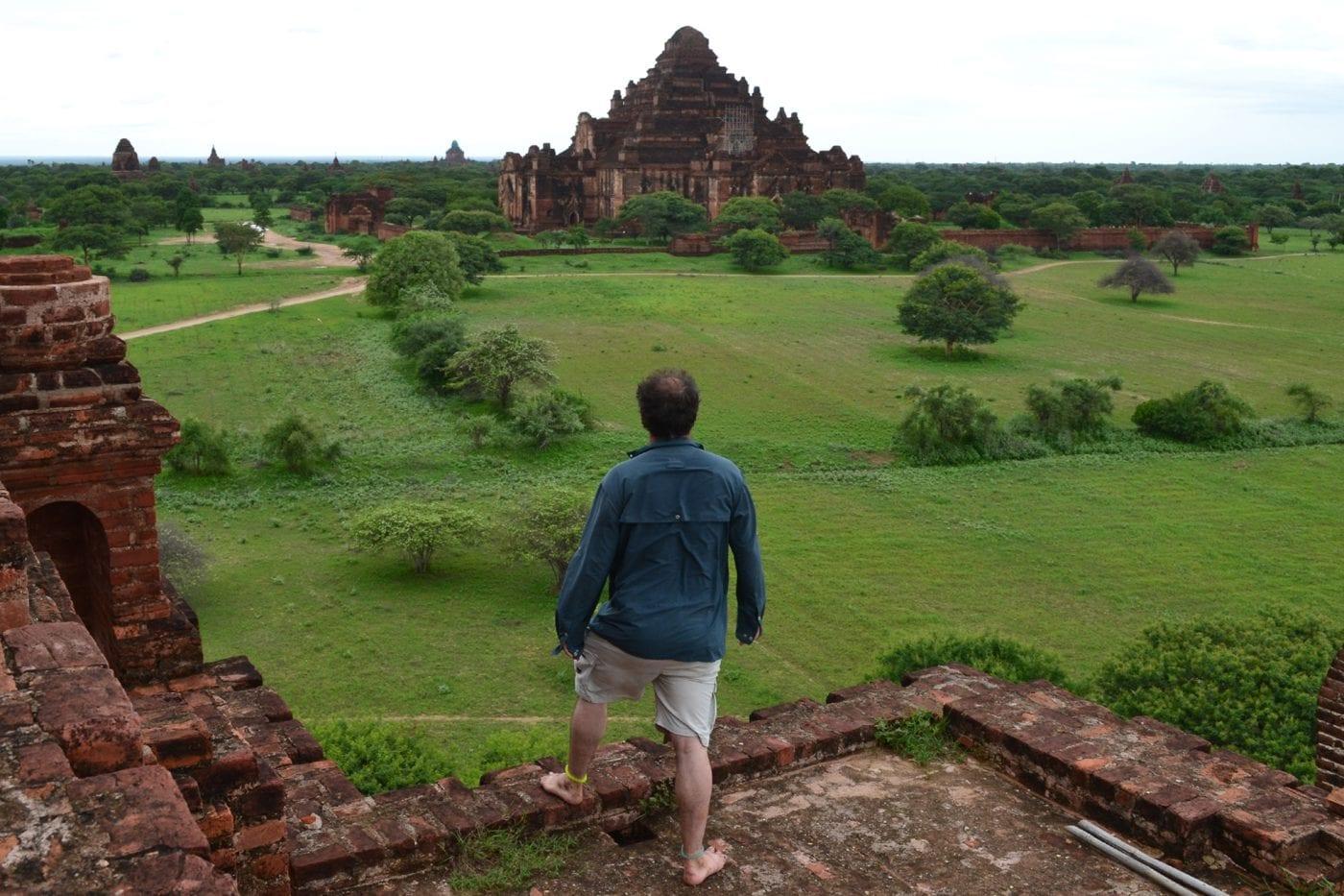 myanmar maz overlooking bagan