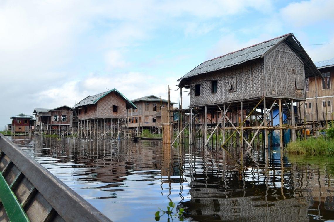 myanmar villages in inlay