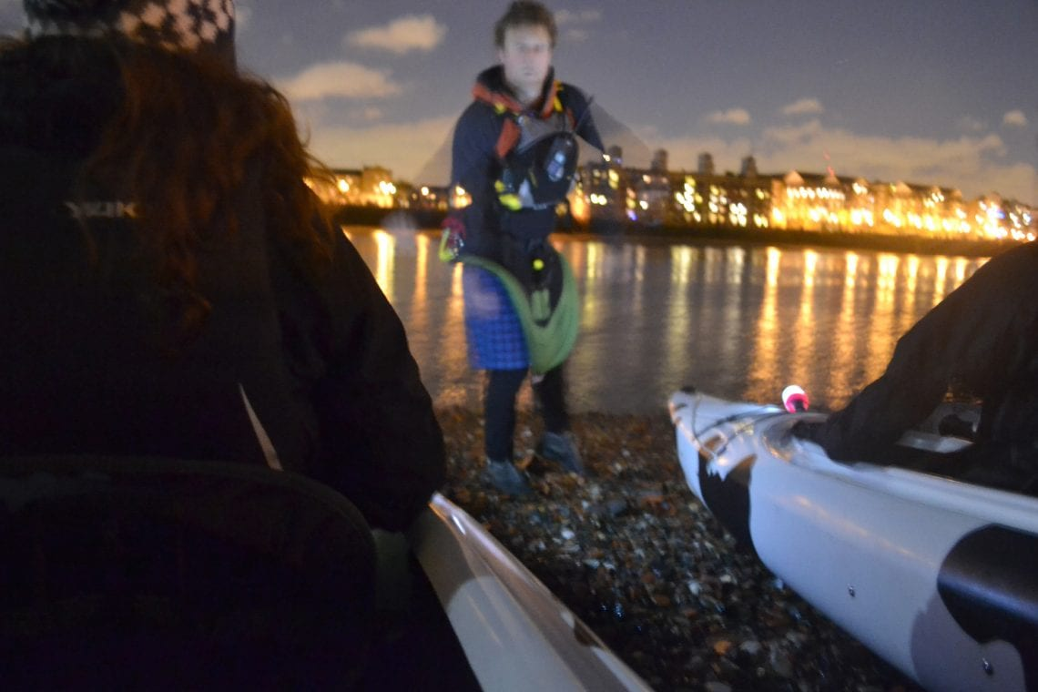 night time paddle final tips before getting off