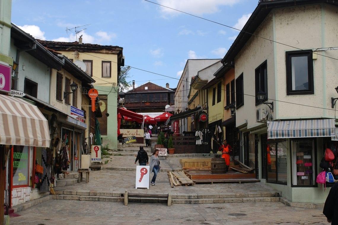 skopje walking through the old turkish bazaar 2