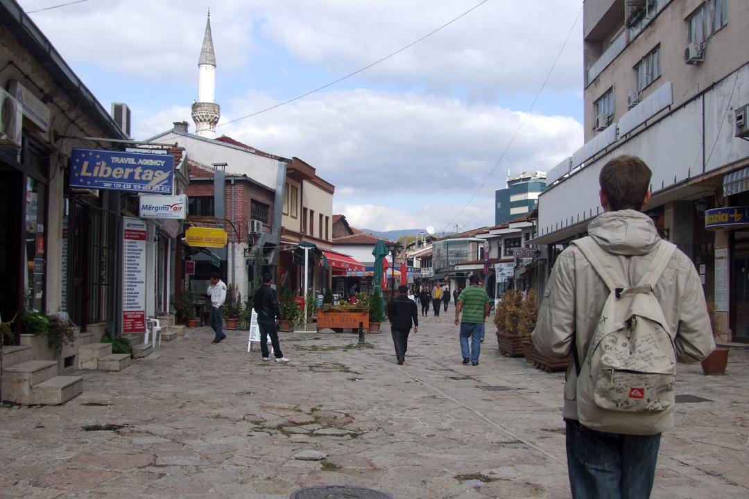 skopje walking through the old turkish bazaar 3