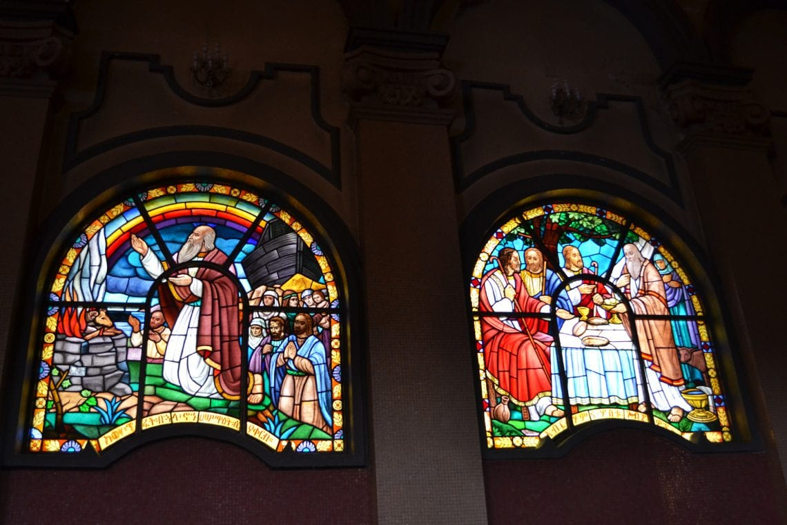 somaliland stain glass