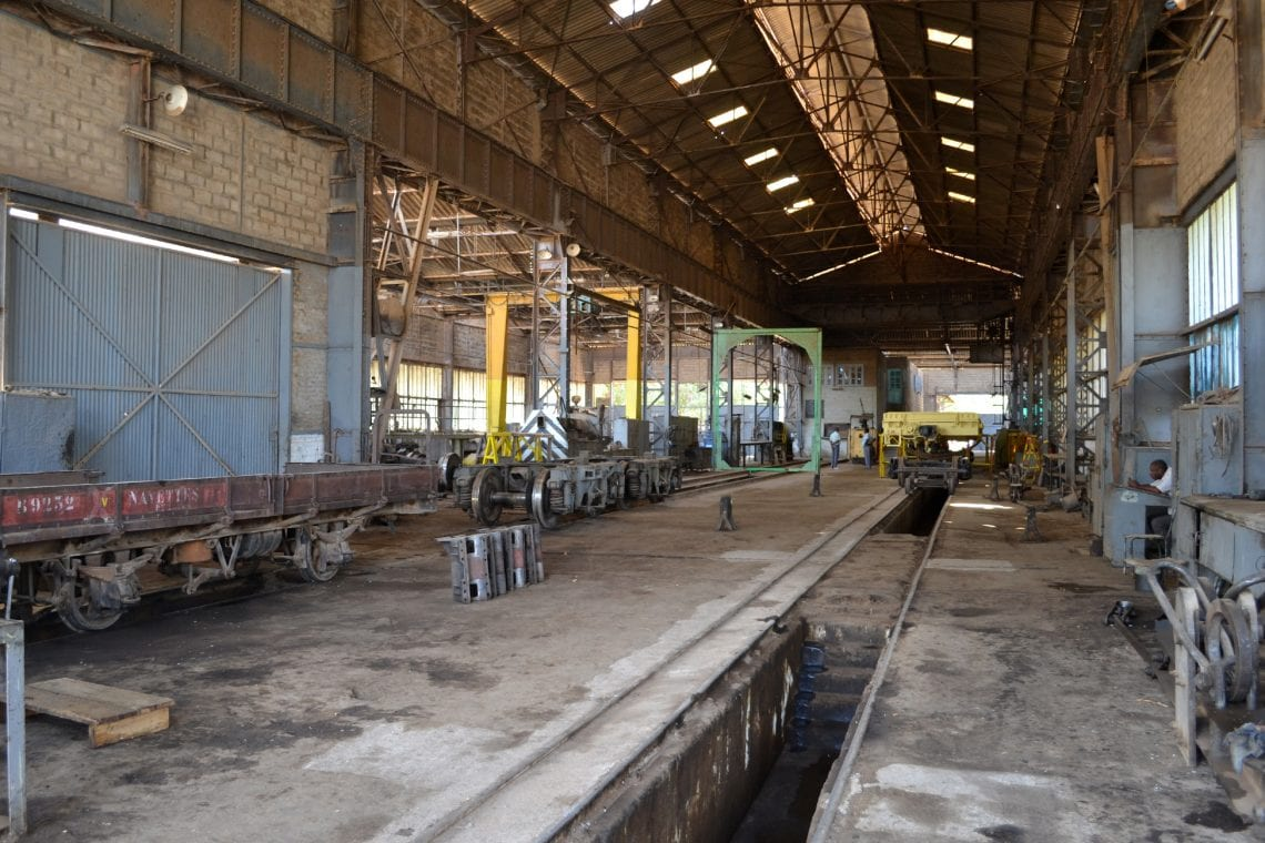 somaliland train workshop