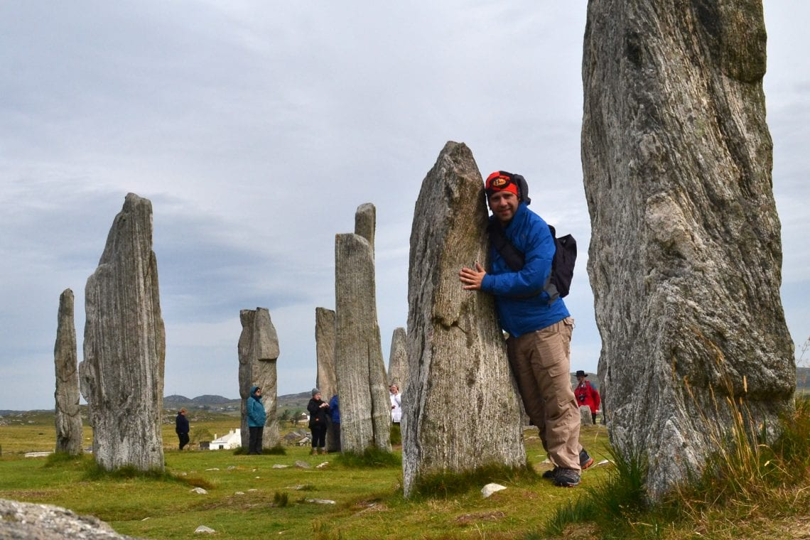 st kilda callanish standing stones are over 5000 years old and you can get right up close and personal