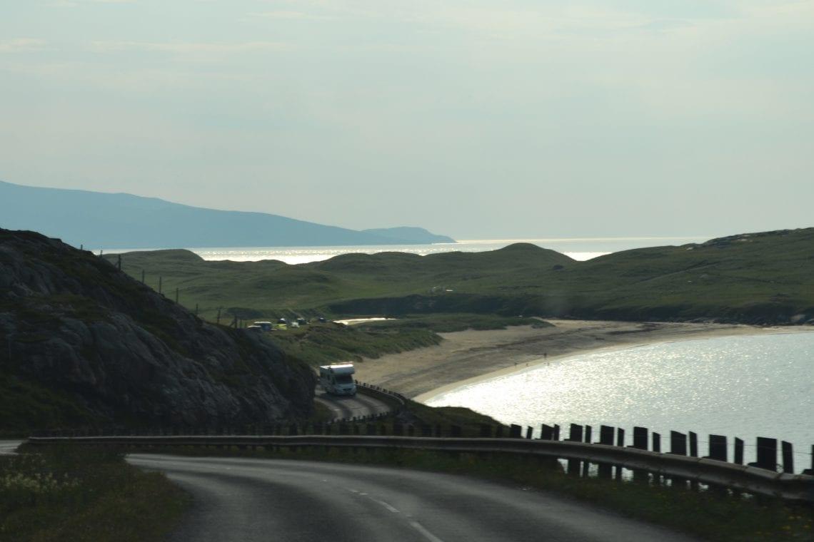 st kilda driving across the island