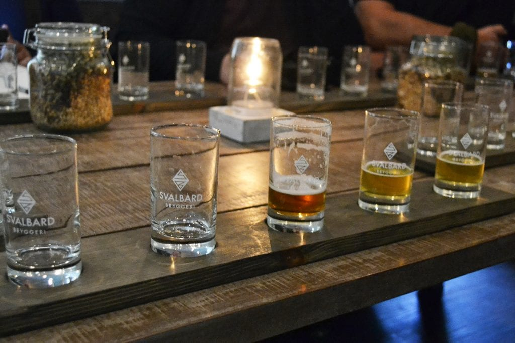 svalbard beer tasting at the worlds most northern brewery