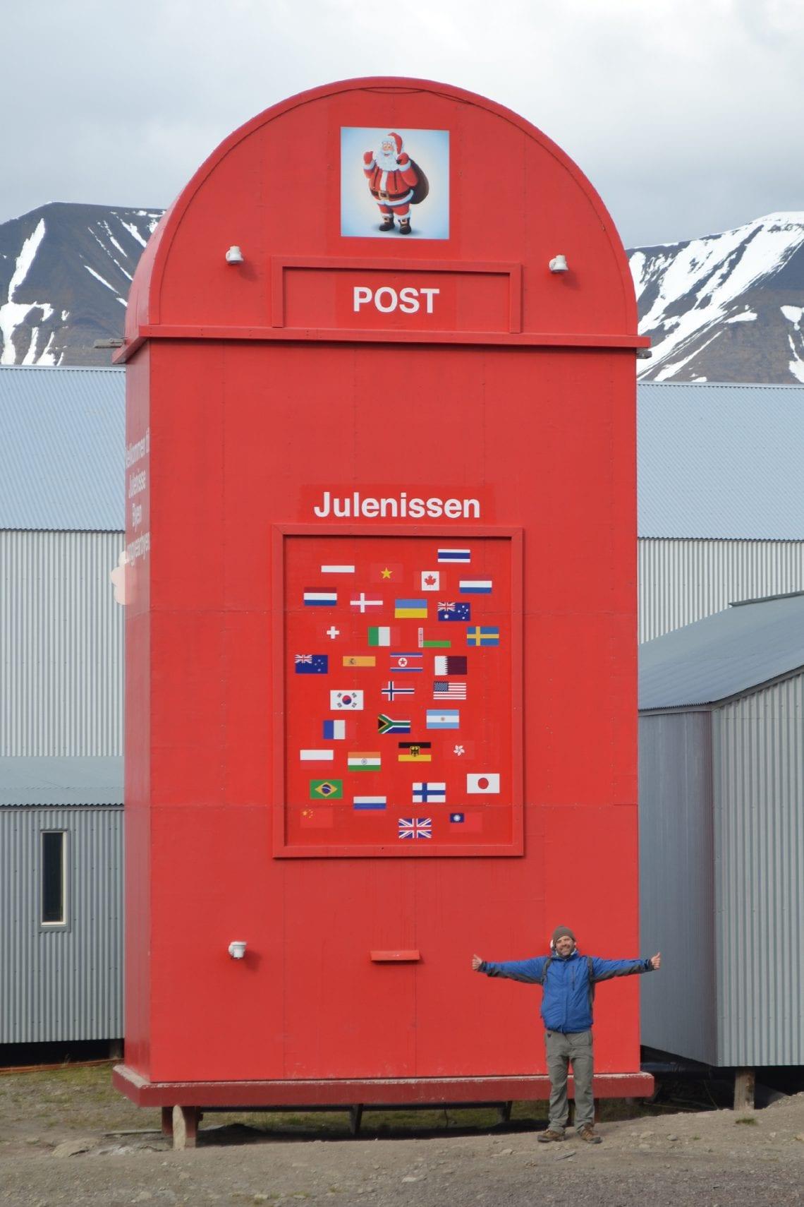 svalbard post box to santa