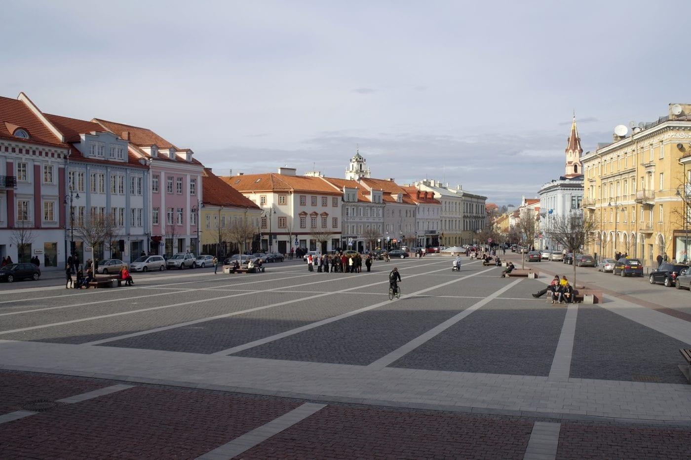 vilnius old town square