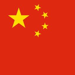 china flag round icon 256