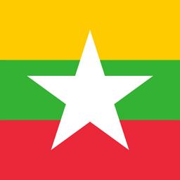 myanmar flag round icon 256
