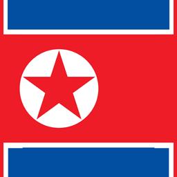north korea flag round icon 256 (1)