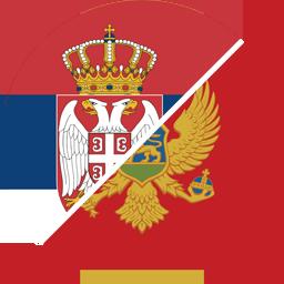 serbia to montenegro flag round icon 256
