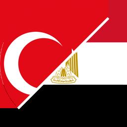turkey to egypt flag round icon 256