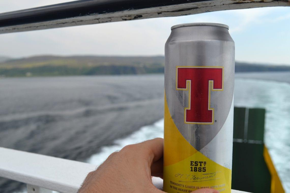 st kilda beer on ferry